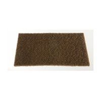 WE Preferred 058545080 961 60 Abrasive Hand Pads, Non-Woven, Tan, 6 x 9in