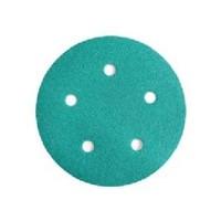WE Preferred 8506372012961 50 Abrasive Discs, Aluminum Oxide on Film, 5in, 5-Hole, Hook & Loop, 120 Grit