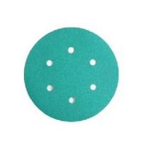 WE Preferred 8506333008961 50 Abrasive Discs, Aluminum Oxide on Film, 6in, 6-Hole, Hook & Loop, 80 Grit