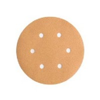 WE Preferred 8507333008961 50 Abrasive Discs, Aluminum Oxide on C-Weight Paper, 6in 6-Hole Hook, 80G