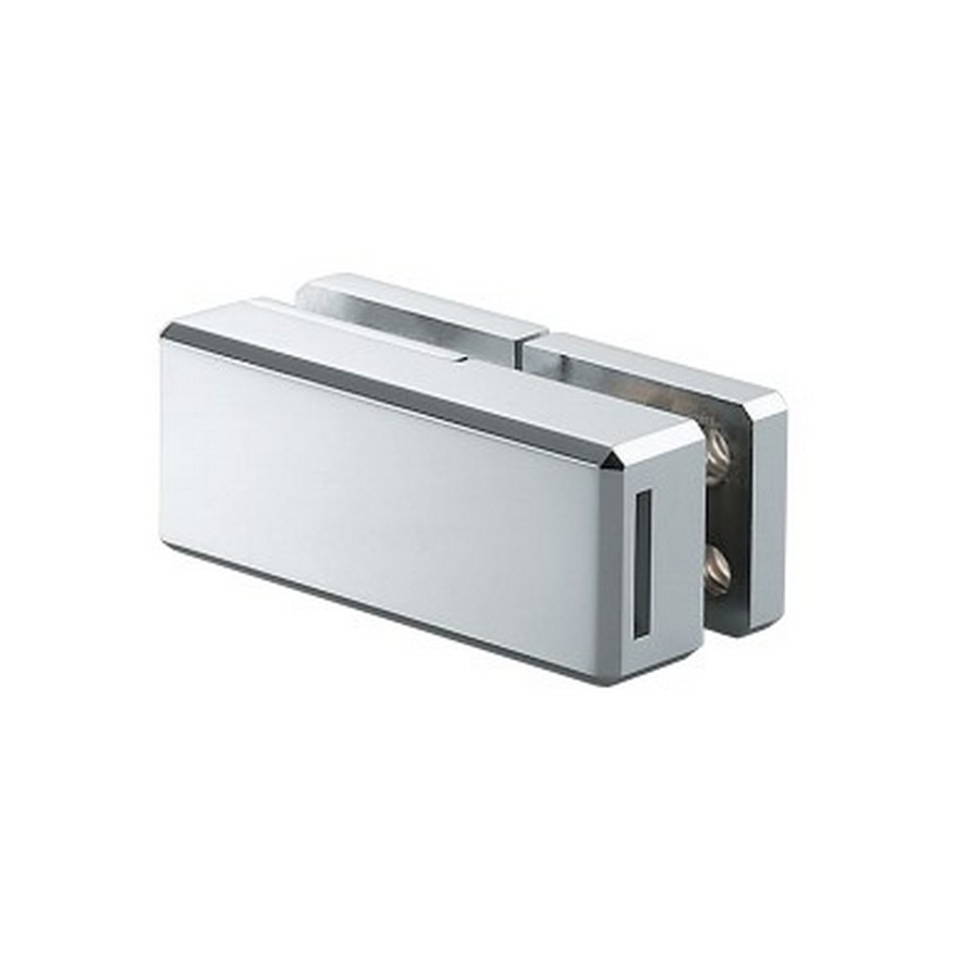 Glass Door Lock for Swinging  Double Doors Chrome Sugatsune XL-GC01-C
