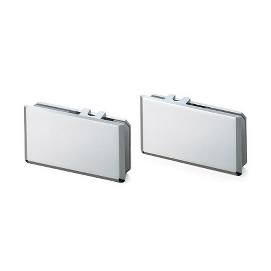 Upper Bracket Set for Sliding Glass Door Chrome Sugatsune XL-GC06-C