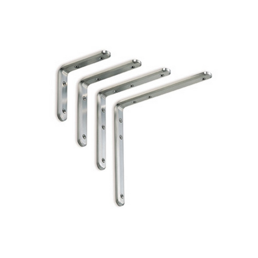 XL-SA01 Angle Bracket 240mm x 240mm Mirror Stainless Steel Sugatsune XL-SA01-240/M