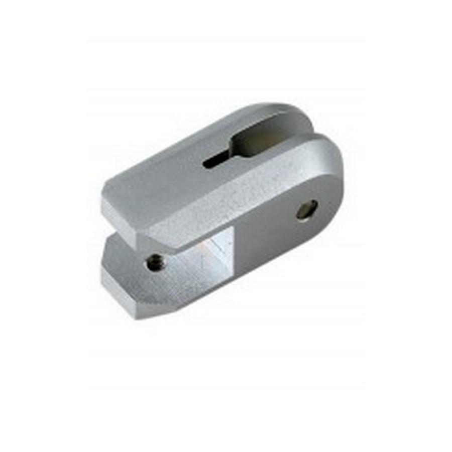 Type B Shelf Support for Wire Shaft Matte Chrome Sugatsune XL-US01-F20