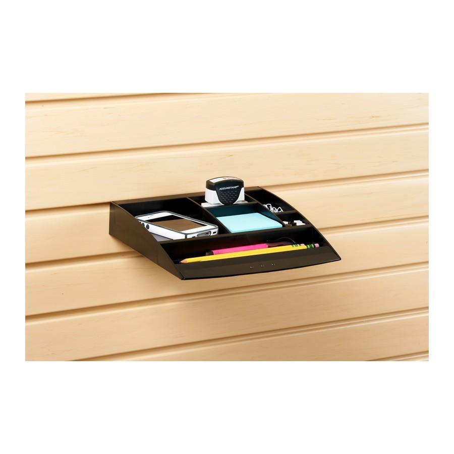 HandiOFFICE Accessory Tray Black Bulk-10 Pieces HandiSOLUTIONS HSW4004P