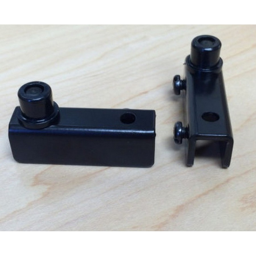 Glass Door Pivot Hinge Black Wood Technology 7025.002.060