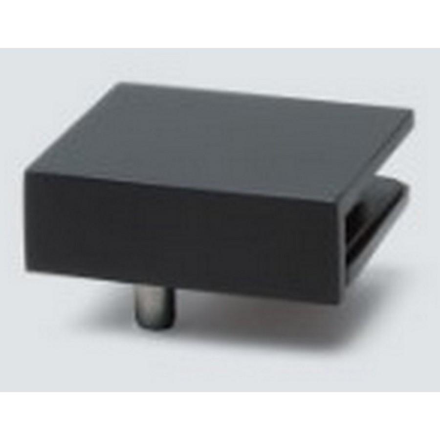 Bracket for GS-GH Glass Hinges LH Black Sugatsune GS-GB5-L-BL