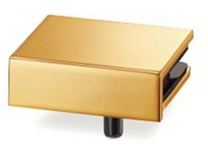 Bracket for GS-GH Glass Hinges RH Gold Sugatsune GS-GB5-R-GP