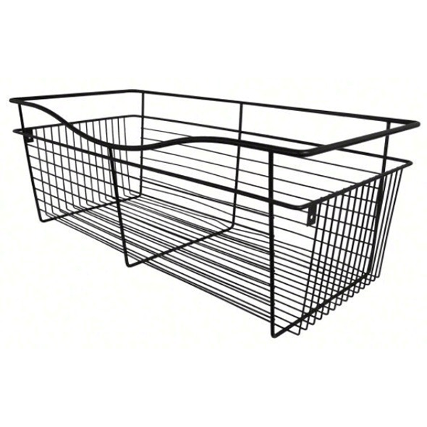 Rev-A-Shelf CB-181618ORB-1 - Wire Basket 16inD Closet Pullout Basket, Oil-Rubbed Bronze