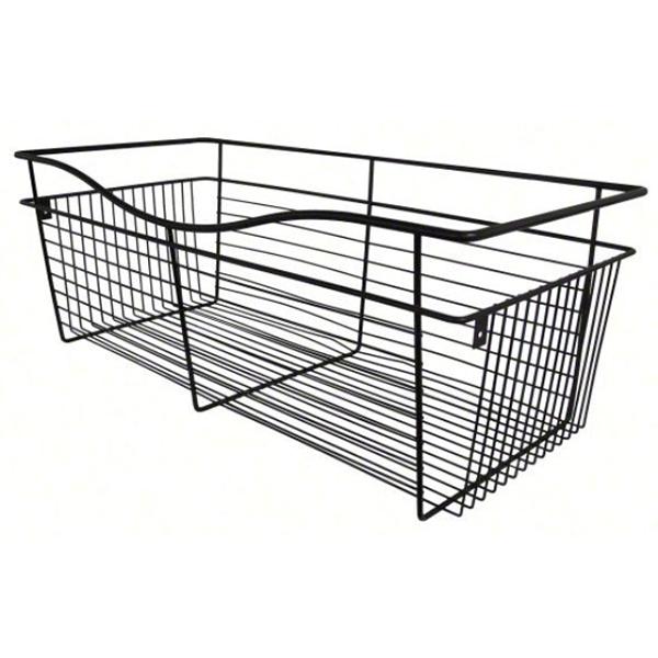 Rev-A-Shelf CB-182007ORB-1 - Wire Basket 20inD Closet Pullout Basket, Oil-Rubbed Bronze