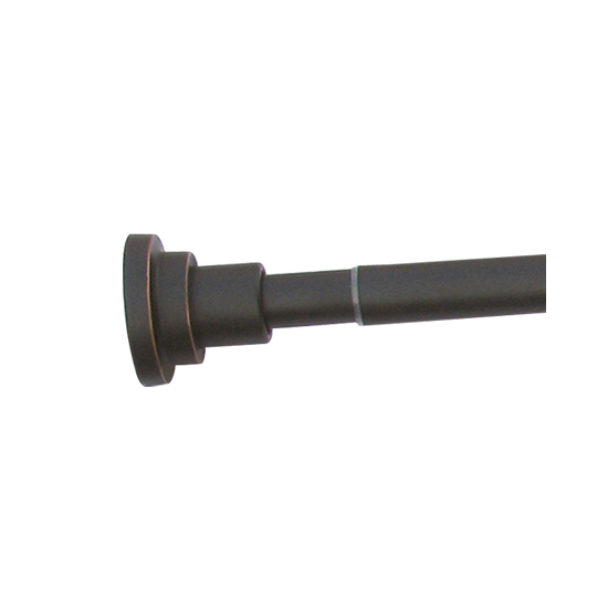 Design House 560920 Adjustable Shower Rod, Oil Rubbed Bronze