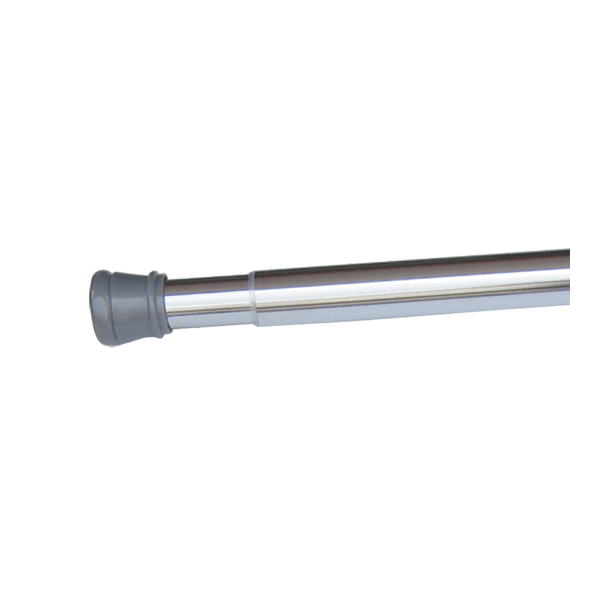 Design House 561019 Adjustable Shower Rod, Polished Chrome
