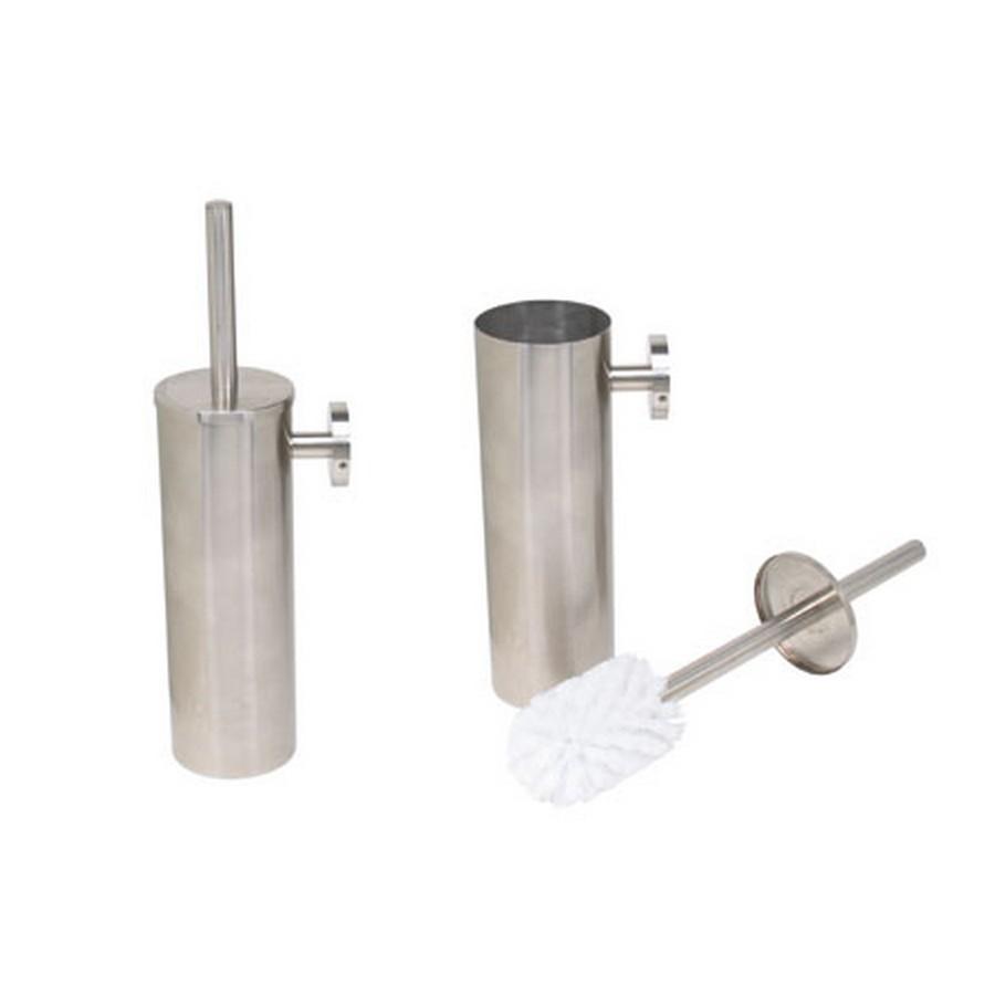 DSB Toilet Brush and Holder Satin Stainless Steel Sugatsune DSB-09