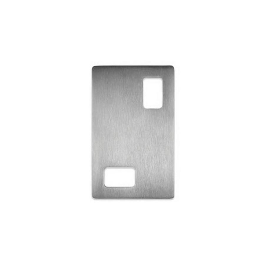 "DSI-4040 Sliding Door Pull 3-5/8"" W x 5-7/8"" H Satin Stainless Steel Sugatsune DSI-4040-150"