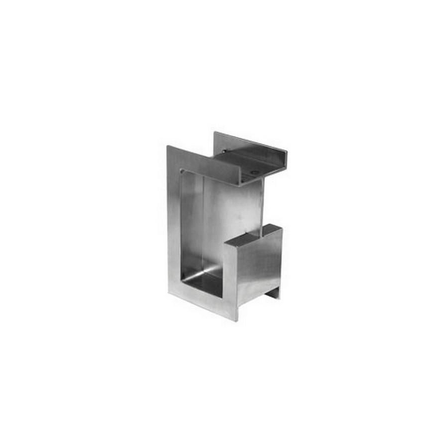 """DSI-4253 Pocket Door Pull 1-1/2"""" W Stain Stainless Steel Sugatsune DSI-4253-38"""