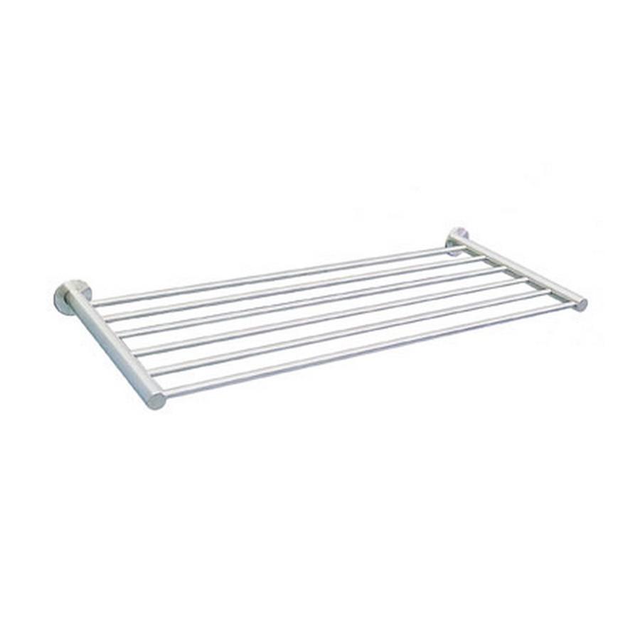 "DSR Hotel Towel Rack 23-5/8"" Long Satin Stainless Steel Sugatsune DSR-08/60"