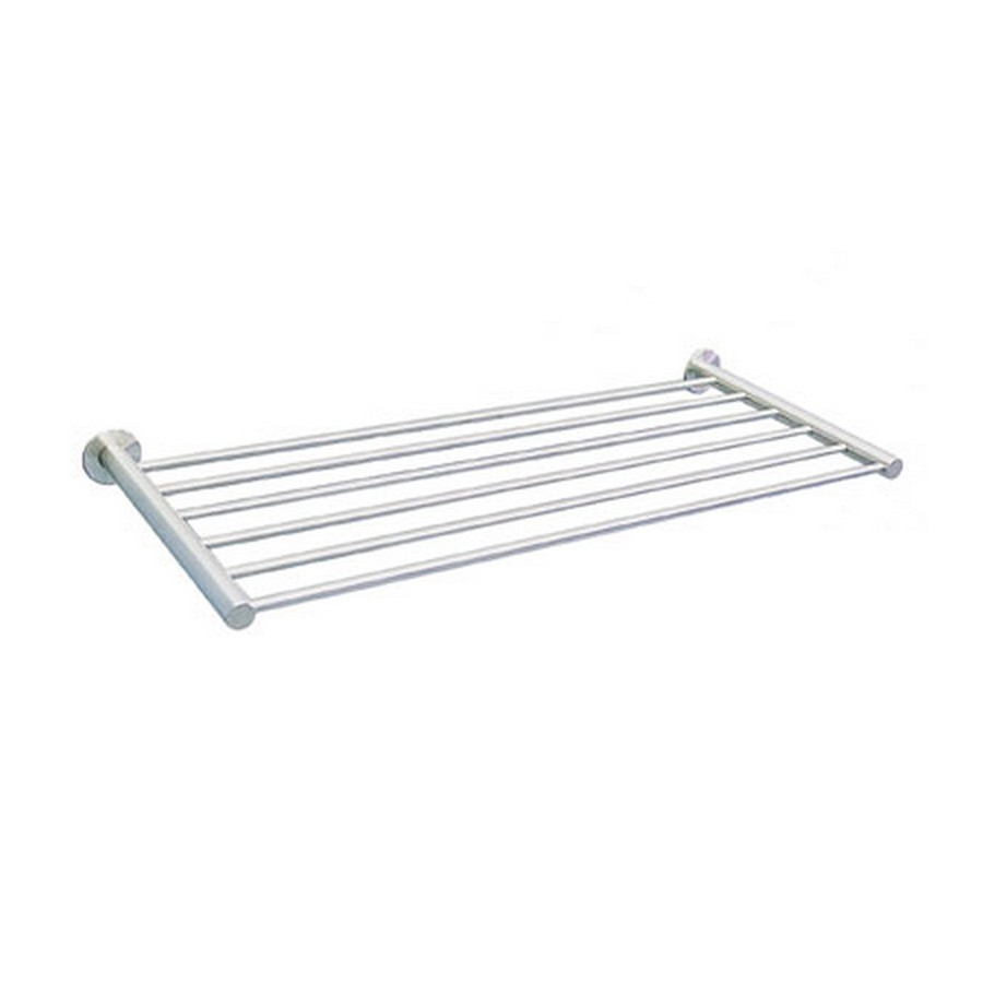 "DSR Hotel Towel Rack 17-3/4"" Long Satin Stainless Steel Sugatsune DSR-08/45"