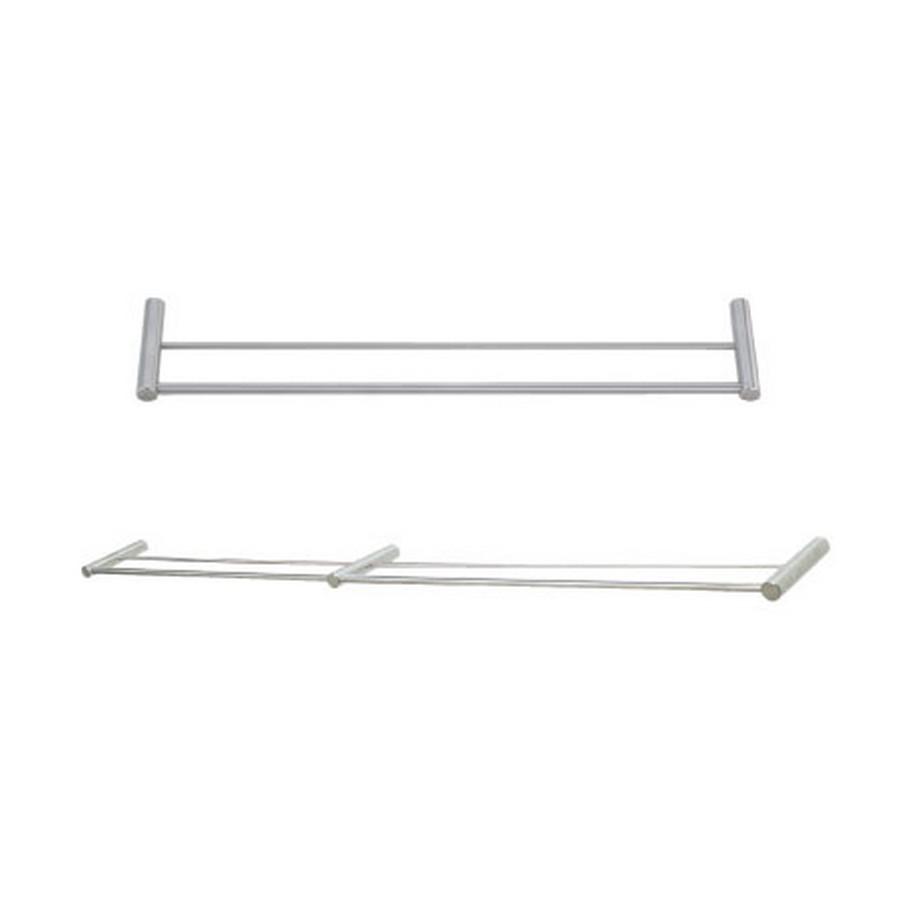 "DSR Double Towel Bar 19-11/16"" Long Satin Stainless Steel Sugatsune DSR-02/50"