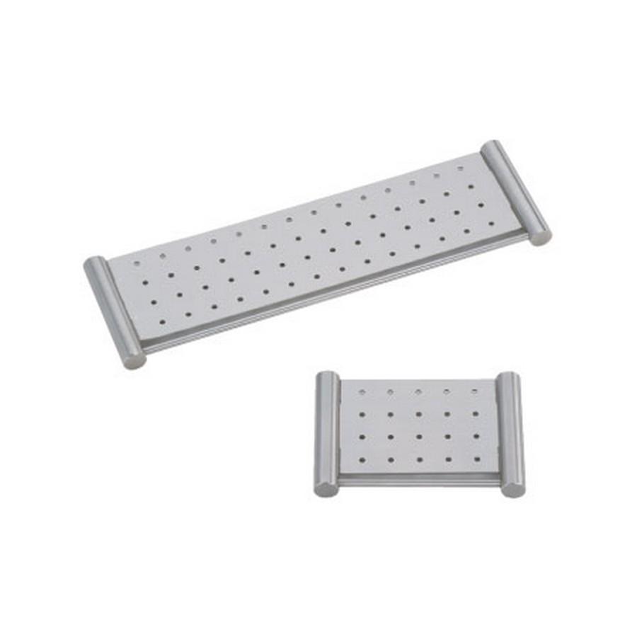 """DSS Soap Holder Shelf 12-19/32"""" Long Satin Stainless Steel Sugatsune DSS-05/32"""