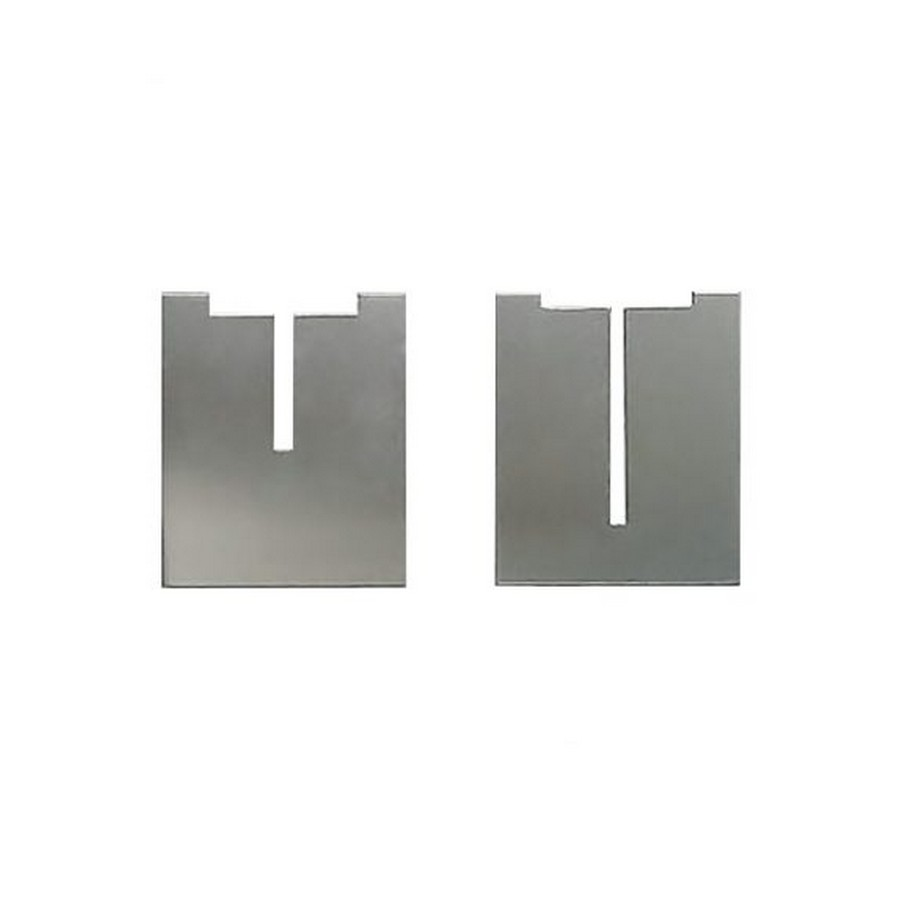 "EH Face Plate 2"" x 2"" x 1/4"" Clear Anodized Rakks EH-FP22"