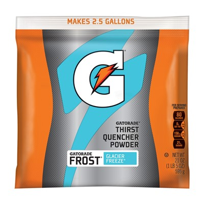 Northern Safety 14465 Gatorade Powder, 2.5 Gal, Glacier Freeze