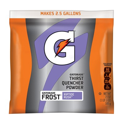 Northern Safety 14465 Gatorade Powder, 2.5 Gal, Riptide Rush