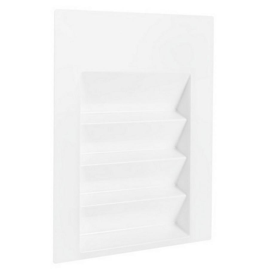 "16"" W Plastic Spice Drawer Insert Glossy White Rev-A-Shelf ST-2GW-52"