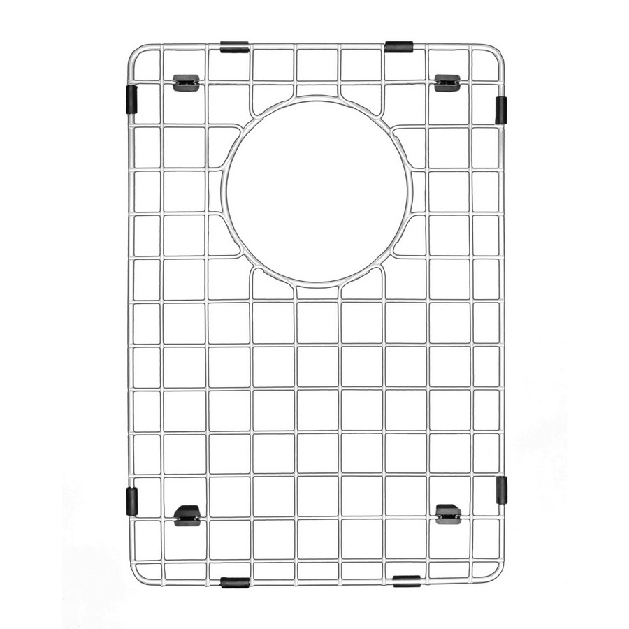 "Stainless Steel Bottom Grid 10"" X 14-1/2"" for QA-760 and QAR-760 Sinks (Small Bowl) Karran GR-6004"