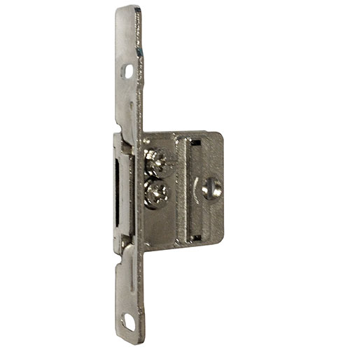 "Screw-On Integra Front Fixing Bracket Nickel LH for Drawer Heights 3-3/8"" - 5-7/8"" Bulk 10 Grass 9305.L.VE10"