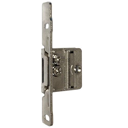 "Integra Screw-on Front Fixing Bracket Nickel RH Drawer Heights 3-3/8"" - 5-7/8"" Bulk-250 Grass 9305.R.VE250"