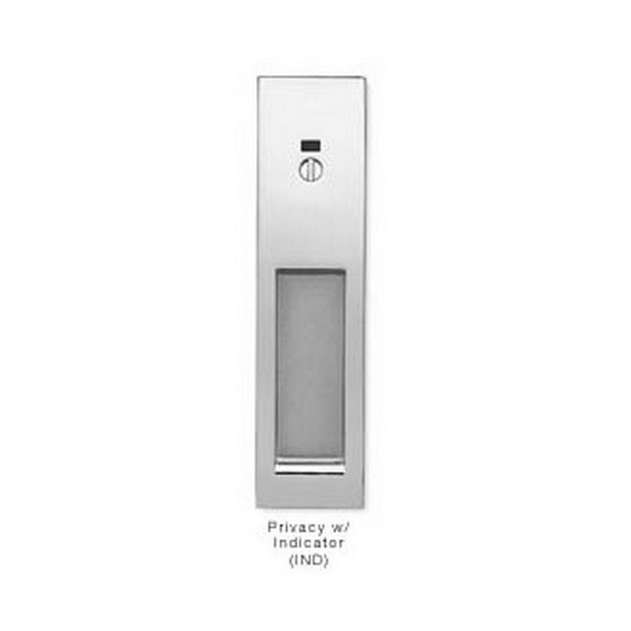 Privacy Indicator Sliding Door Latch Nickel Sugatsune HC-3051-IND-NI