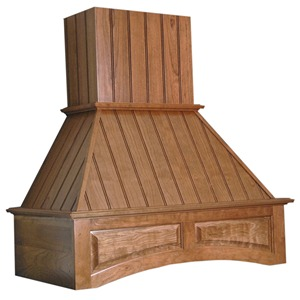 """Omega National 42"""" Wide Nantucket Arched Wall Hood with Liner for Sirius, Cherry, R2342SMS3CUF1"""