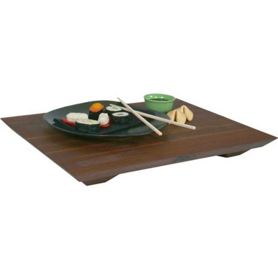 John Boos WAL-FB201501 20 L Cutting Board with Feet, Fusion Board Gift Collection, Walnut, Size 20 L x 15 W x 1in Thick