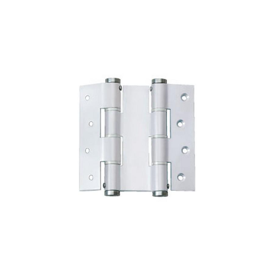 "Double Action Spring Hinge 4-3/4"" W Aluminum Sugatsune JDAW-120-35A"