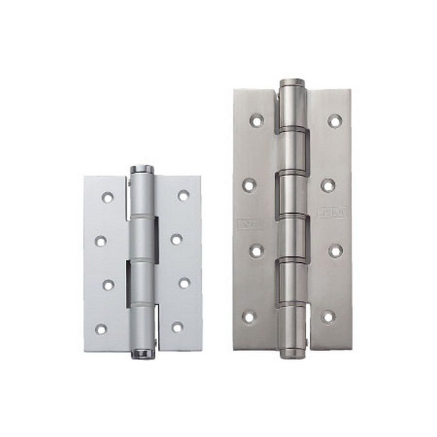 """Spring Door Hinge 3-1/8"""" W Stainless Steel Sugatsune JSA-120S"""