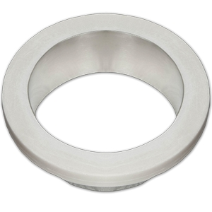 "Karran EW-09, 9"" Waste Chute, Seamless Undermount, Stainless Steel"