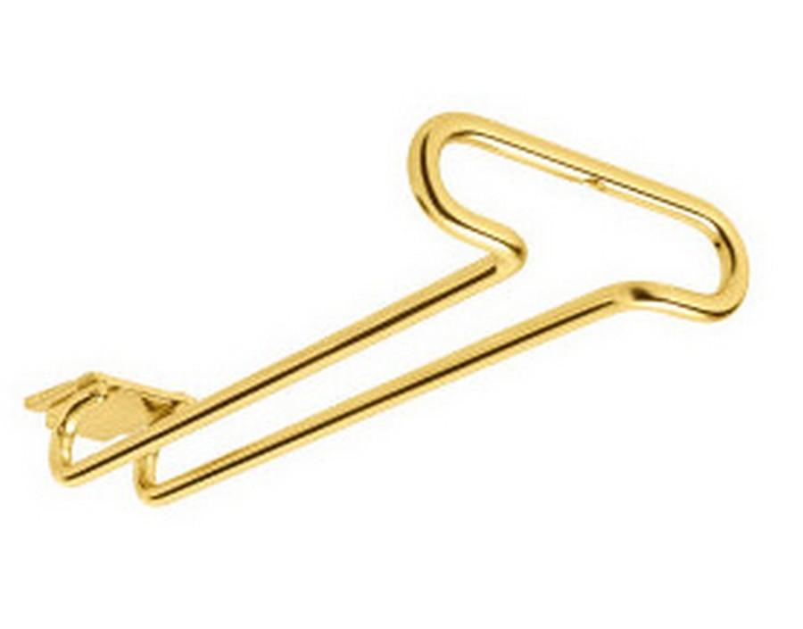 "11"" Under Cabinet Stemware Holder Brass Rev-A-Shelf 3150-11BR"