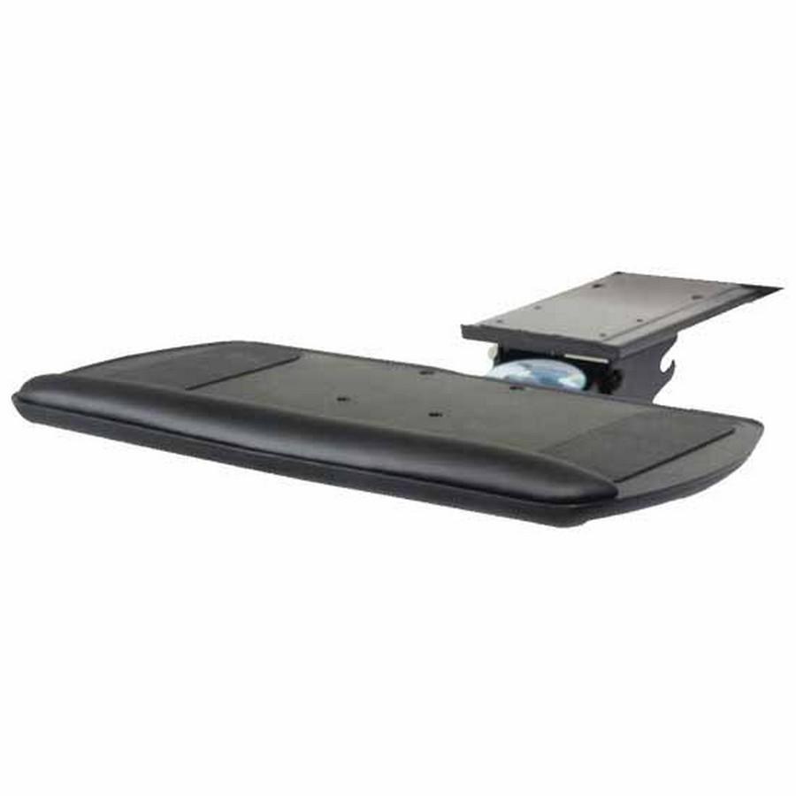 Keyboard Arm with Platform Black Knape and Vogt SD-02-18
