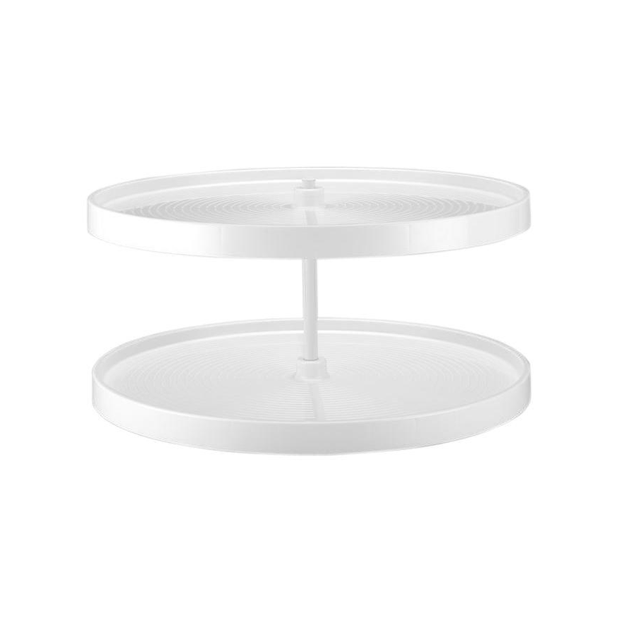 Rev-A-Shelf LD-2062-28BM-11-1 - 28in Full Circle Lazy Susans 2-Shelf, White