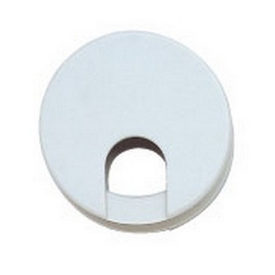 "LSU Double Sided Grommet 2-3/8"" Dia White Sugatsune LSU60WT"