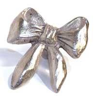 Emenee MK1116ACO, Knob, Bow, Antique Matte Copper