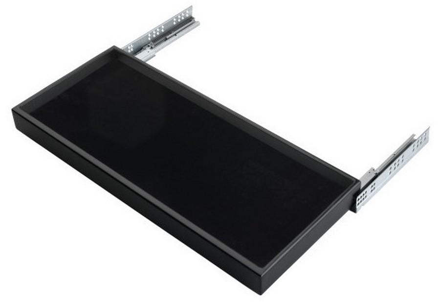 "24"" Medium Undermount Jewelry Drawer Black Rev-A-Shelf CVJD-2414UM-1"