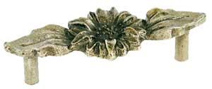 Emenee OR262ACO, Handle, Sunflower, Antique Matte Copper