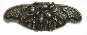 Emenee OR302ABB, Pull, Acorn Bin, Antique Bright Brass