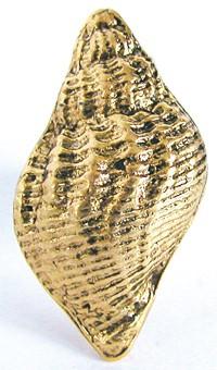 Emenee OR106ACO, Knob, Traditional Seashell, Antique Matte Copper