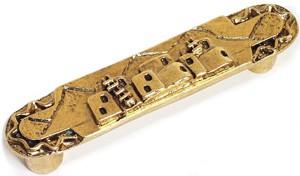 Emenee OR221ABB, Handle, Adobe House, Antique Bright Brass