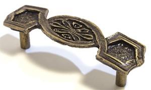 Emenee OR319ACO, Pull, Baroque, Antique Matte Copper