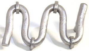 Emenee OR321AMS, Pull, S-Curve, Antique Matte Silver