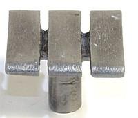 Emenee OR331ABS, Knob, Wide Stripe, Antique Bright Silver