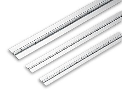 "LSN 1-1/4"" Weld-On Piano Hinge 23-5/8"" L Stainless Steel Sugatsune LSN8-32-600"